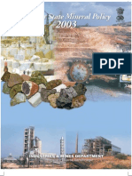Gujarat State Mineral Policy 2003