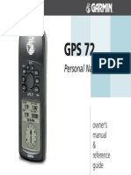 GPS 72 Owners Manual