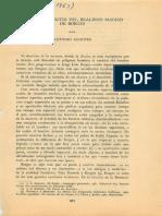 Algunos aspectos del realismo mágico de Borges