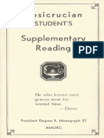 Rosicrucian - Supplementary Monograph Reading (1952).pdf