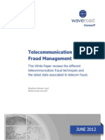 2012 WHITEPAPER Telecommunication-Fraud-Management Waveroad ConsulT