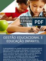 Pós-graduação em Gestão Educacional e Educação Infantil - Grupo Educa+ EAD