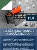 Pós-graduação em Gestão Educacional e Inspeção Escolar - Grupo Educa+ EAD