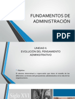 II. PRINCIPIOS DE ADMINISTRACIÓN (a)