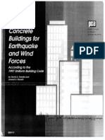 Design of Concrete Buildings for Earthquake and Wind Forces UBC 1997