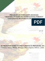PRESENTACIÓN PP PROGRAMA GENERAL