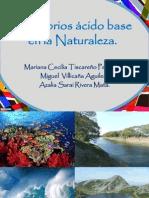 Equilibrios ácido base en la naturaleza