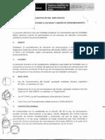 Directiva N 004 2009 OSCE CD