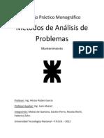 Métodos de análisis de problemas en Mantenimiento