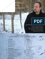 Winter Songs - Digital Booklet (design by Pat Burke)