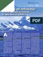 Glaciares en retroceso en Bolivia