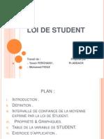 Loi de Student