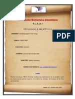 Actividad 3.1 Tec. Educ