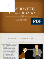 com org RELACIÓN JEFE-SUBORDINADO