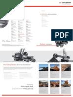 Mining Product Catalogue