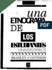 Una Etnografia de Los Estudiantes Universitarios - Levinson