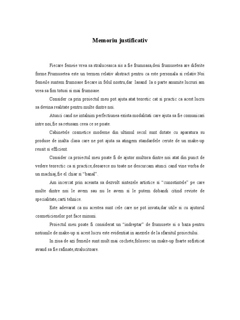Machiaj De Zi Referat 27 Pag