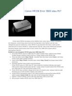 Cara Mengatasi Canon MP258 Error 5B00 atau P07.docx