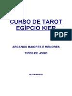 Curso de Tarot- Egipcio