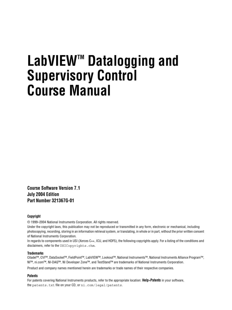 labview dsc 7 1 course manual pdf scada user interface rh scribd com National Instruments View National Instruments Can Bus N932