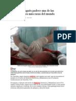 Bebé bumangués padece una de las enfermedades más raras del mundo
