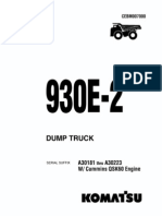 Manual 930e Cummins Qsk60 a30181 a a30223