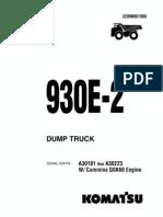 Manual 930e Cummins Qsk60 a30181 a a30223