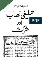 Tableeghi Nisaab Aur Shirk quraan aur ahadith-e-sahiha ki roshni main