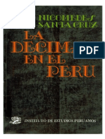 Nicomedes Santa Cruz La Decima en El Peru