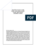 Peer Manual For Peer led Ambulatory Care for Drug abuse