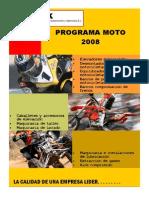 Program a Moto 2008