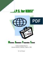 MAPS for KIDS! – Missions Adventure Preparation School