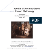 An Encyclopedia of Ancient Greek and Roman Mythology - Second Edition