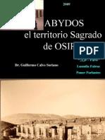 Abydos Territorio Sagrado de OSIRIS - Antiguo Egipto
