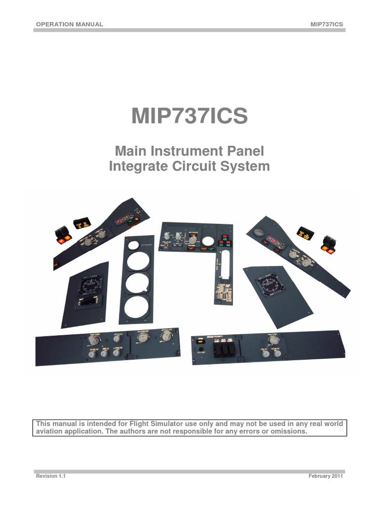 mip737icsmi01 pdf | Backlight | Cockpit