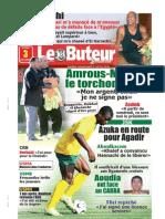 LE BUTEUR PDF du 03/08/2009