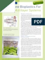 New Bioplastics for Multilayer Systems Bioplastcs 06-2008 01