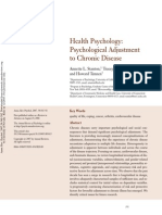 Psychological adjustment to chronic disease