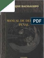 Enrique Bacigalupo - Manual de Derecho Penal