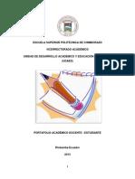 5. Portafolio Academico d