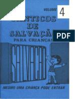 Canticos de Salvação vol. 4