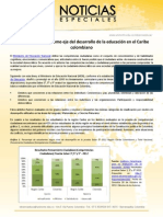 Formar ciudadanos como eje del desarrollo de la educación en el Caribe colombiano