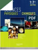 Livre Sciences Hachette 1ere T3