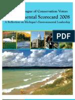 Michigan Environmental Scorecard - 2007-2008
