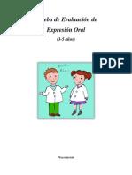 Prueba de Exp. Oral