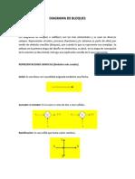 Componentes y Definiciones de Un Diagrama de Bloques