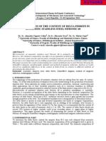 DETERMINATIN OF THECONTENTOfDELTAFERRITE IN AUSTENITIC STAINLESS STEEL NITRONIC 60.pdf