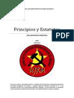 Principios y Estatutos UJRM