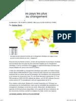 Quels sont les pays les plus vulnérables au changement climatique _