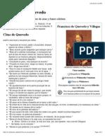 Francisco de Quevedo, Quotes